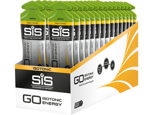 SiS GO Isotonic Energy Gel Box 30x60ml, Apple